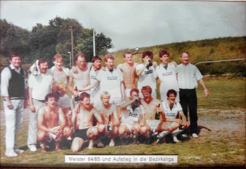 Aufstieg Bezirksliga 1984/85